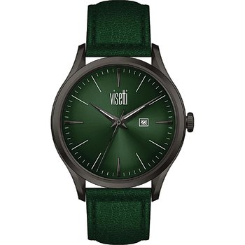VISETTI Ladies Green Leather