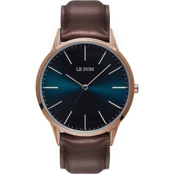 LE DOM Classic Brown Leather