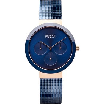 BERING Ceramic Blue Stainless