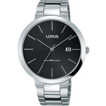 LORUS Gents Silver Stainless