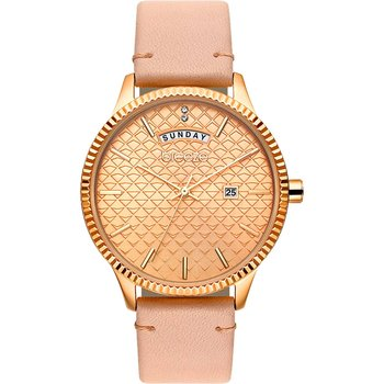BREEZE Jackie Wow Crystals Pink Leather Strap