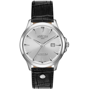 ROAMER Windsor Black Leather
