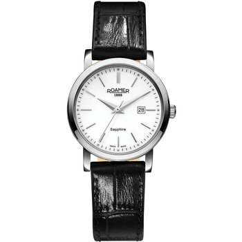 ROAMER Classic Black Leather