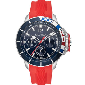 NAUTICA Bay Ho Red Silicone