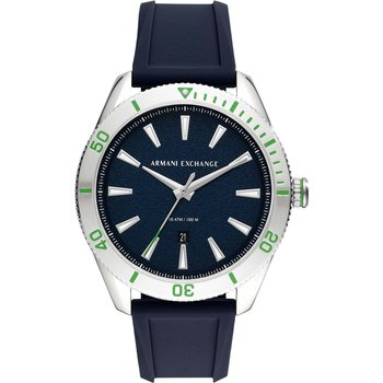 ARMANI EXCHANGE Blue Silicone