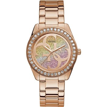 GUESS Ladies Crystals Rose