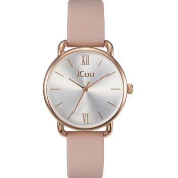 JCOU Charm Pink Leather Strap
