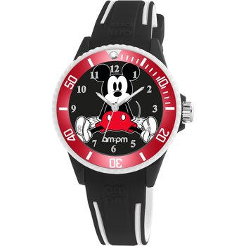 AM:PM Disney Black Rubber
