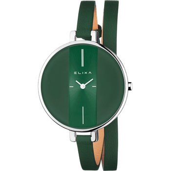 ELIXA Finesse Green Leather