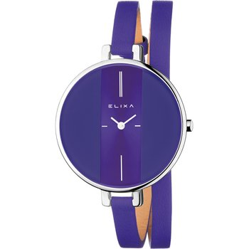 ELIXA Finesse Purple Leather