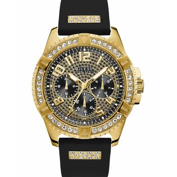 GUESS Ladies Crystals Black