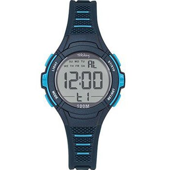 TEKDAY Mens Chronograph Blue