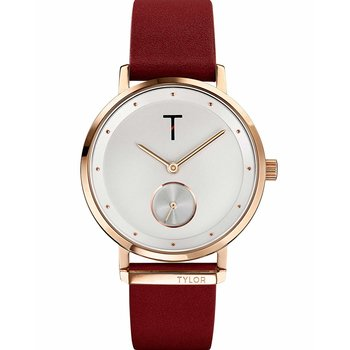 TYLOR Hoola Bordeaux Leather Strap