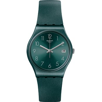 SWATCH Ashbaya Green Silicone