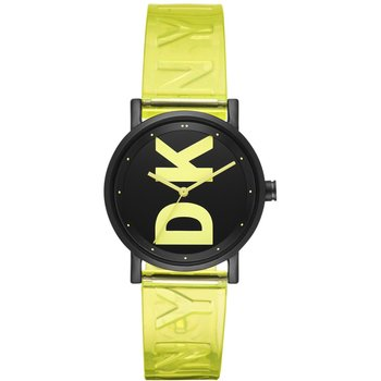 DKNY Soho Light Green Plastic Strap