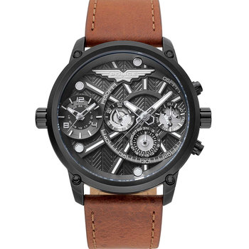 POLICE Onset Dual Time Brown