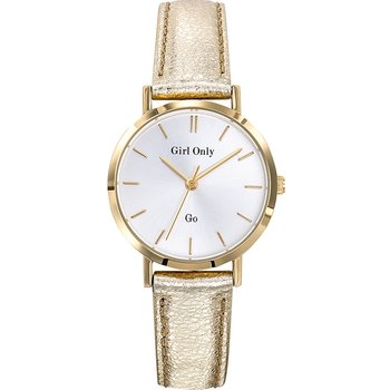 GO Ladies Gold Leather Strap