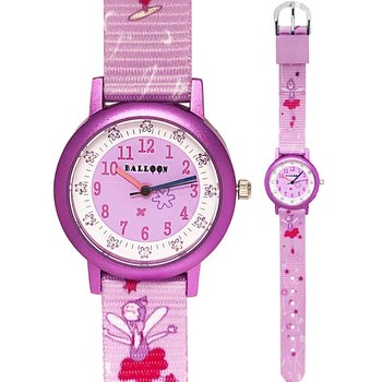 BALLOON Girls Purple Fabric Strap