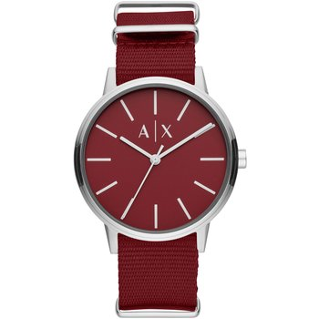 ARMANI EXCHANGE Mens Red