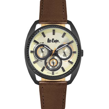 LEE COOPER Mens Brown Leather