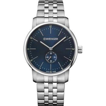 WENGER Urban Classic Silver Stainless Steel Bracelet