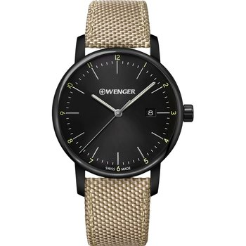 WENGER Urban Classic Beige Fabric Strap