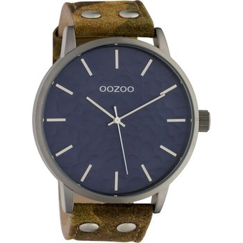 OOZOO Timepieces Camo Leather Strap
