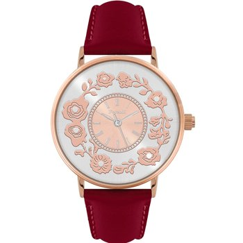 FERENDI Flare Red Leather Strap