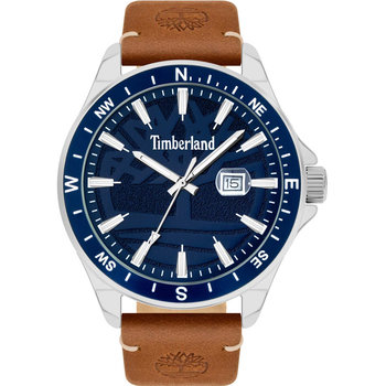 TIMBERLAND Swampscott Brown Leather Strap