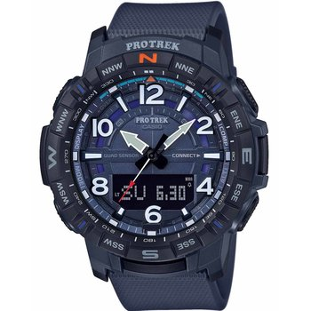 CASIO Protrek Chronograph Blue Rubber Strap