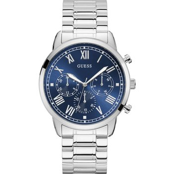 GUESS Mens Silver Stainless