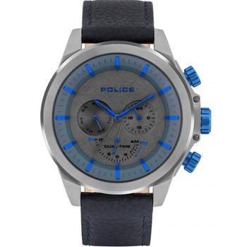 POLICE Belmont Dual Time Blue