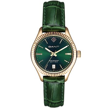 GANT Sussex Green Leather