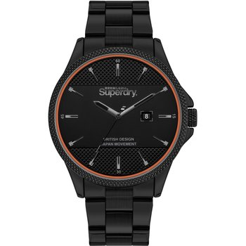 SUPERDRY Black Stainless