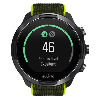 SUUNTO 9 Baro Lime with Two Tone Fabric Strap