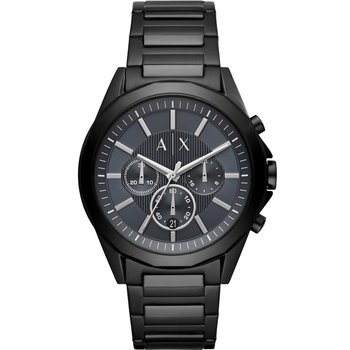 ARMANI EXCHANGE Drexler Chronograph Black Stainless Steel Bracelet