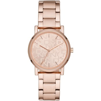 DKNY Soho Rose Gold Stainless Steel Bracelet