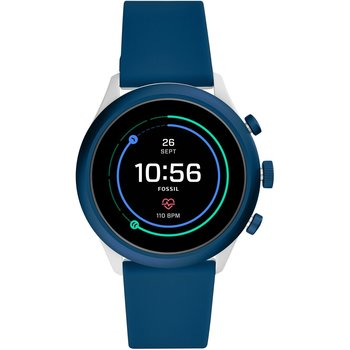 FOSSIL Sport Blue Silicone
