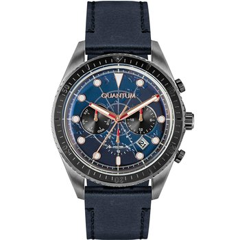 QUANTUM Mens Dual Time Blue