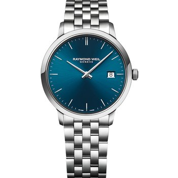 RAYMOND WEIL Toccata Silver Stainless Steel Bracelet