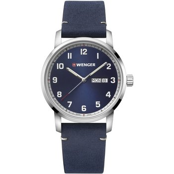 WENGER Attitude Blue Leather Strap