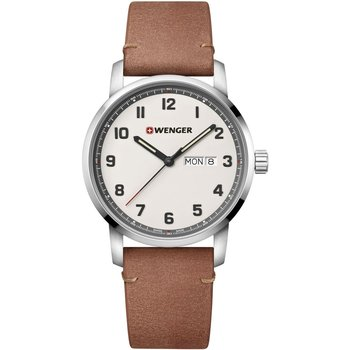 WENGER Attitude Brown Leather Strap