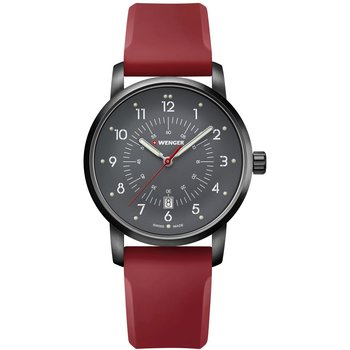 WENGER Avenue Red Silicone Strap