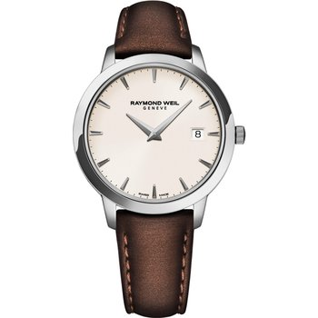 RAYMOND WEIL Toccata Brown Leather Strap