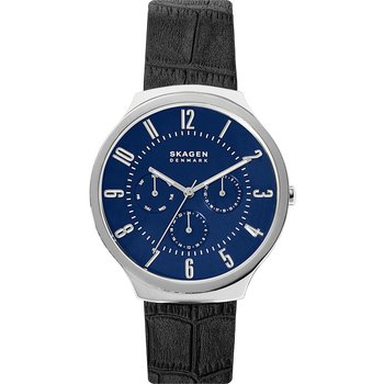 SKAGEN Grenen Black Leather