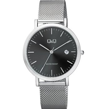 Q&Q Silver Stainless Steel