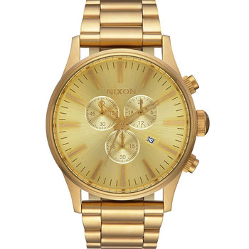 NIXON Sentry Chrono Gold