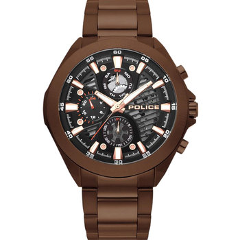 POLICE Wadden Brown Stainless