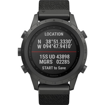 GARMIN MARQ Commander Edition with Black Jacquard-Weave Nylon Strap