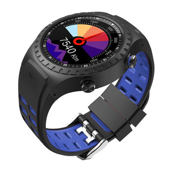 DAS.4 Smartwatch Black / Blue